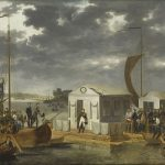 Treaty of Tilsit: Napoleon I and Alexander I on the Neman River in 1807. © RMN-Grand Palais